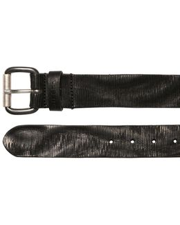 39mm Laser-cut Leather Belt
