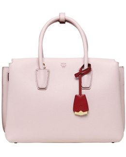 Medium Milla Leather Tote Bag