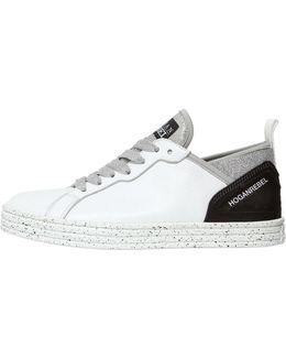 20mm Leather & Neoprene Sneakers