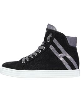50mm Suede & Lace Sneakers