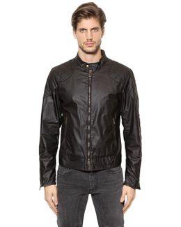 Outlaw Waxed Cotton Moto Jacket