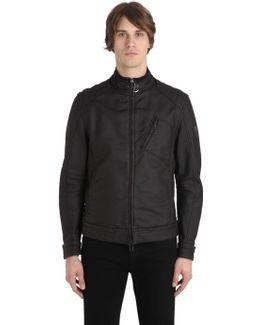 H Racer Rubberized Cotton Jacket