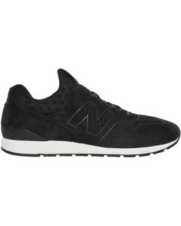 996 Perforated Nubuck Sneakers