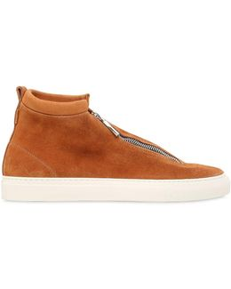 Fontesi Suede High Top Sneakers