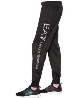 Logo Nylon Pants