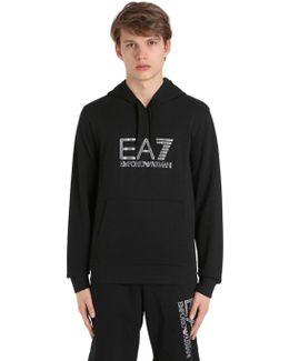 Logo Hooded Cotton Sweatshirt