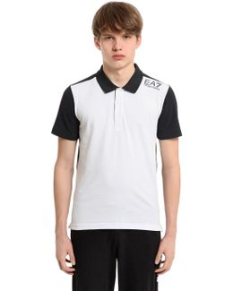 Cotton Jersey Golf Polo Shirt
