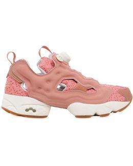 Instapump Fury Woven Nylon Sneakers