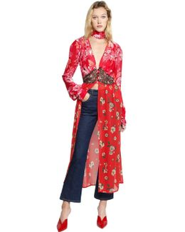 Beatriz Print Silk Georgette Dress