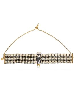 Karl Beaded Choker Necklace