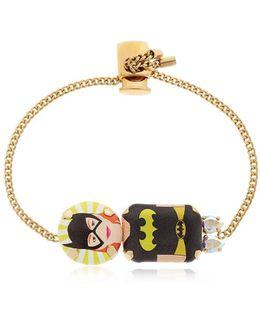 Batgirl Small Chain Bracelet