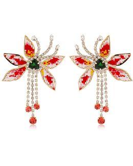 Flower Amelia Earrings