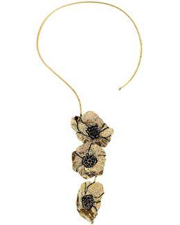 Cloe Necklace With Garnets