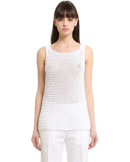 Cotton Knit Tank Top