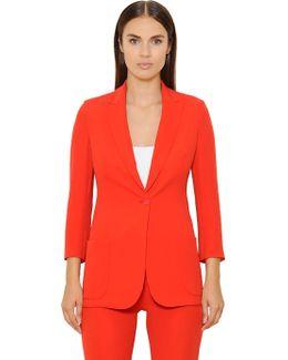 Silk Crepe Georgette Jacket