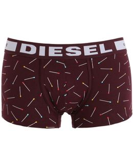 Matches Print Cotton Jersey Boxer Briefs