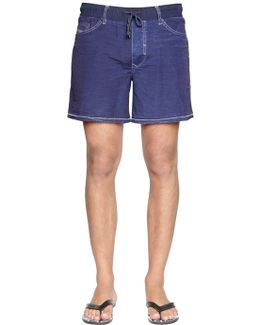 5 Pocket Nylon Swim Shorts