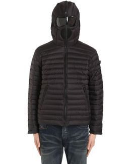 Zip-up Nylon Micro Ripstop Down Jacket