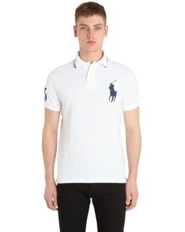 Big Pony Cotton Piqué Polo Shirt