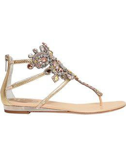 10mm Swarovski & Karung Sandals