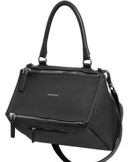 Medium Pandora Waxed Leather Bag