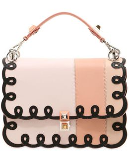 Medium Kan I Embroidered Leather Bag