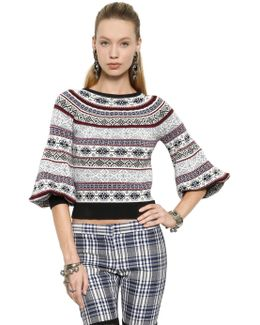 Silk, Wool And Cotton Sweater