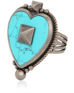 Santeria Heart Ring