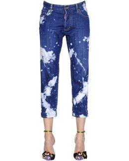 Tie & Dye Tomboy Cotton Denim Jeans