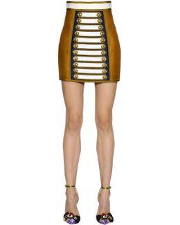 Silk & Cotton Twill Skirt