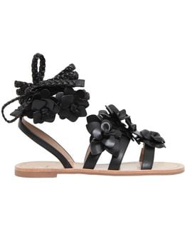 10mm Blossom Gladiator Leather Sandals