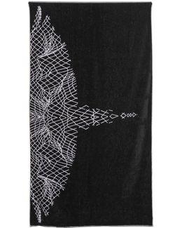 Asier Cotton Terrycloth Beach Towel