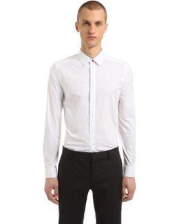Super Slim Cotton Poplin Shirt