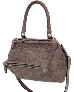 Small Pandora Washed Leather Bag