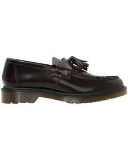 Fringed & Tassel Smooth Leather Loafers