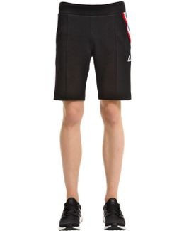 Cotton Blend Sweat Shorts