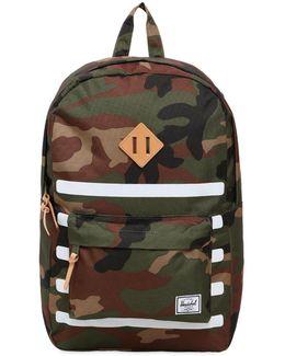 Heritage Print Stripe Backpack