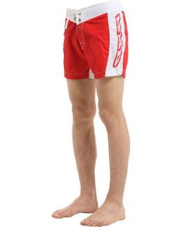 Maestrale Nylon Swim Shorts