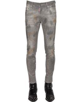 16cm Skater Sparkling Denim Jeans