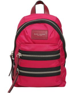 Mini Biker Nylon Backpack