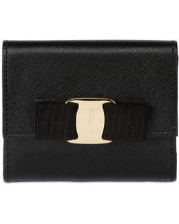 French Saffiano Leather Wallet