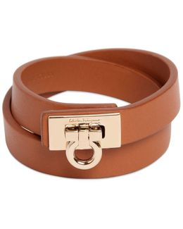 Gancio Leather Bracelet
