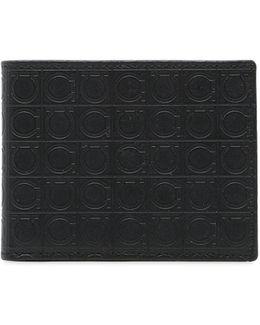 Gamma Soft Embossed Leather Slim Wallet