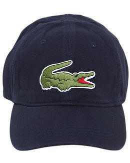 Logo Embroidered Cotton Baseball Hat