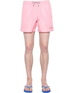 Logo Nylon Swim Shorts