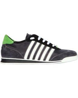 Nylon Low Runner Sneakers