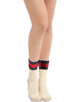 Webright Sequin Socks