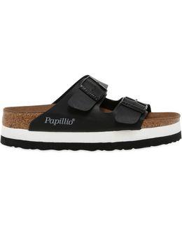 Arizona Faux Leather Platform Sandals