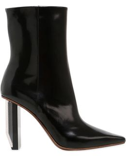 90mm Reflector Heel Ankle Boots