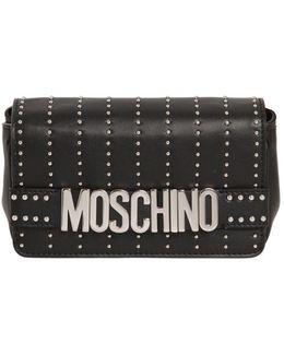 Small Studded Leather Bag